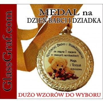 Medal Prezent Dzień Babci Dziadka