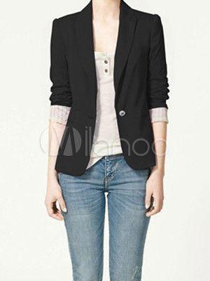 ファッション v ネック コットン ブレンド女性のカジュアルな服-No.3