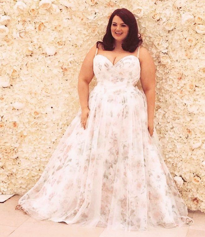 You can have custom plus size wedding gowns like this made to order with any design changes you need. We also make #replicas of haute couture designer dresses too. So if what you want is out of your price range email us to see how much an inspired version will cost. DariusCordell.com