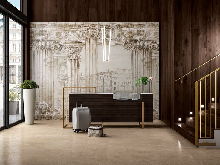 Works of art, Kerlite slabs the blank canvas on which Cotto d'Este has painted beauty and charm: that's Wonderwall.