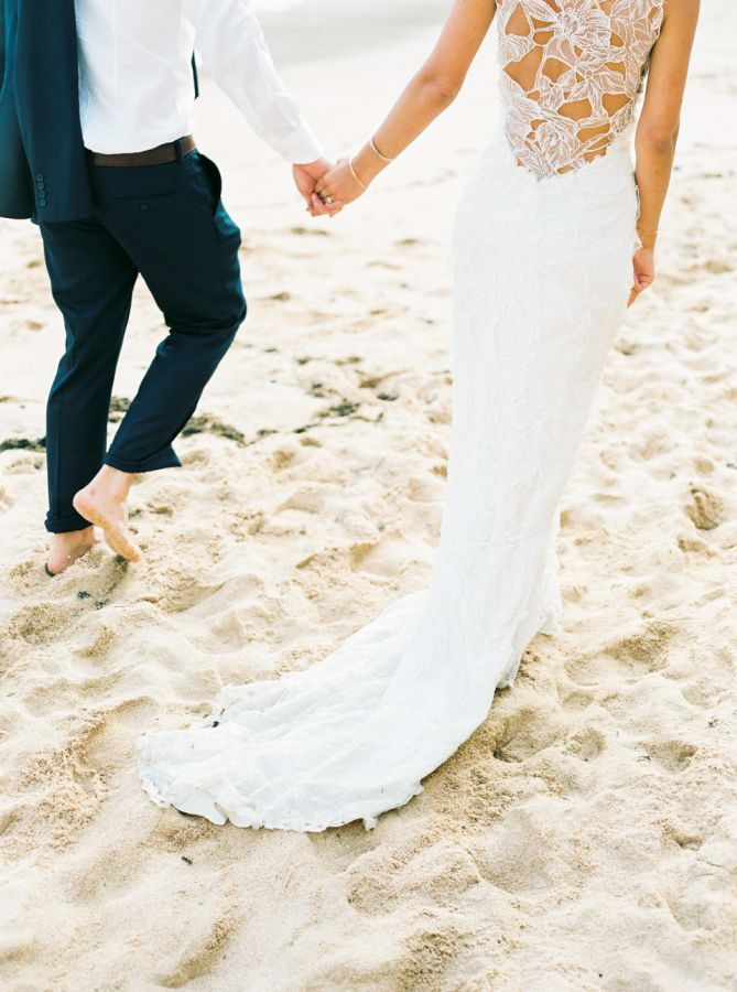 Portugal beach wedding: http://www.stylemepretty.com/destination-weddings/2015/09/11/romantic-bohemian-chic-wedding-in-portugal/ | Photography: Love Is My Favorite Color - http://www.loveismyfavoritecolor.com/