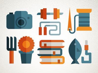 visualgraphic: Icons by Francesco Faggiano repinned by Awake — designedbyawake.com