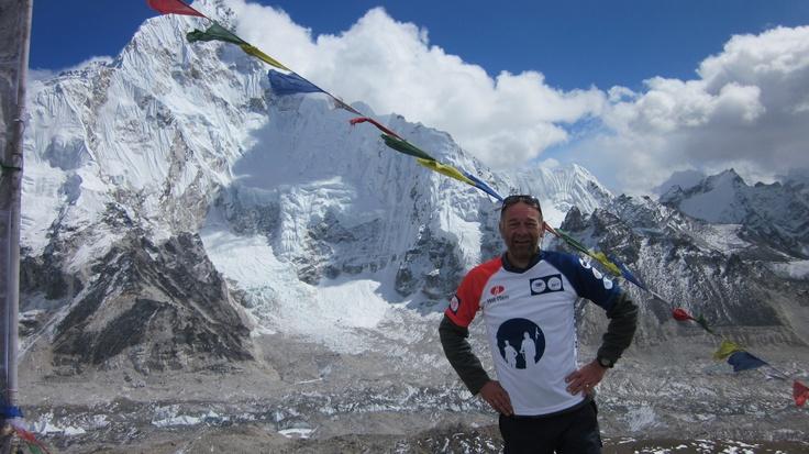 Piet op de Himalaya