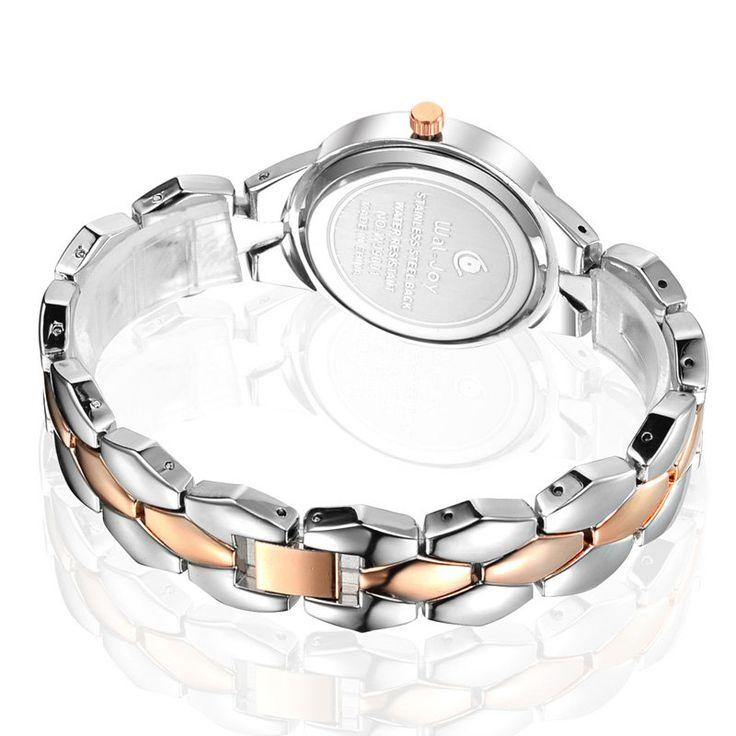 WAL-JOY WJ-9001 Luxury Women Quartz Watch Fashion Alloy Strap Ladies Dress Watch at Banggood