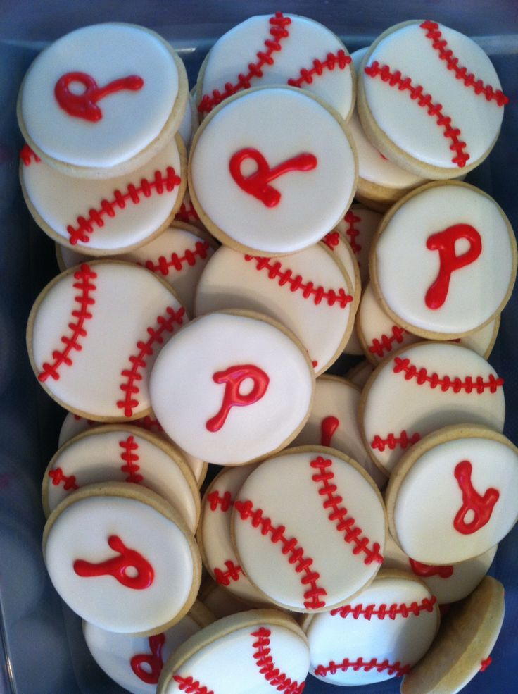 Phillies cookies for Virtua hospital tailgate party June 21, 2013