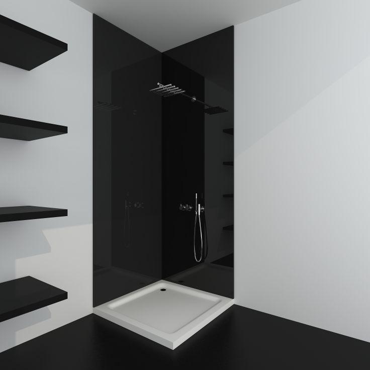 De Aquawall Acryl is de wandbekleding voor de stijlvolle badkamer.