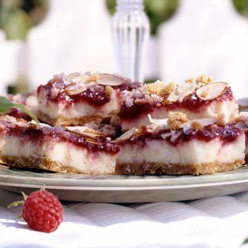 Raspberry Cheesecake Bars: Raspberry Bar, Raspberry Cheesecake Bars, Recipe, Food, Cream Cheese, Sweet Tooth, Bar Cookies, Raspberries