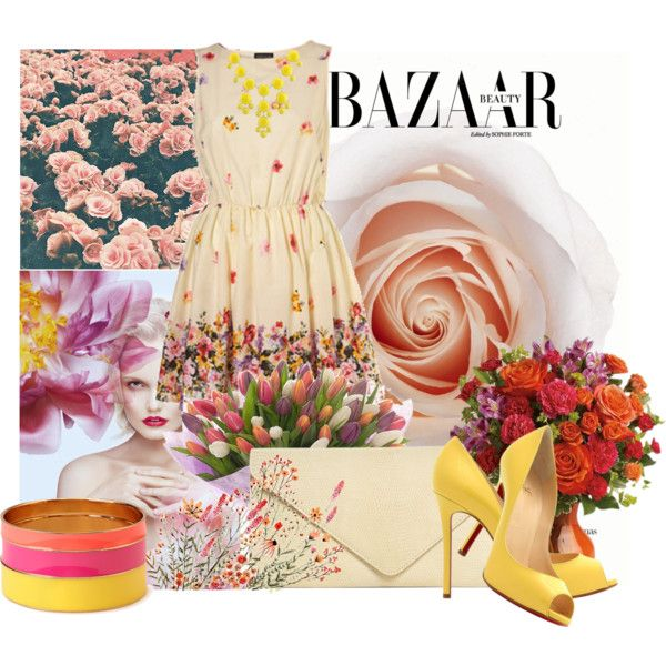 """flower power"" by inculori on Polyvore"