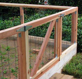 Vegetable Garden Fence Design 31 best rabbit proofing the garden images on pinterest | fence