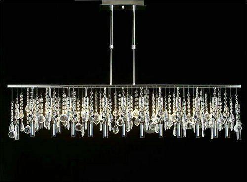 12 best the beautiful rectangular chandelier images on pinterest cool modern rectangular chandelier aloadofball Image collections