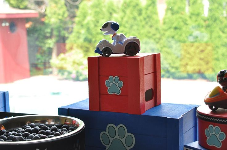 Decorations from a Paw Patrol Birthday Party #pawpatrol #pawpatrolideas #pawpatrolbirthday