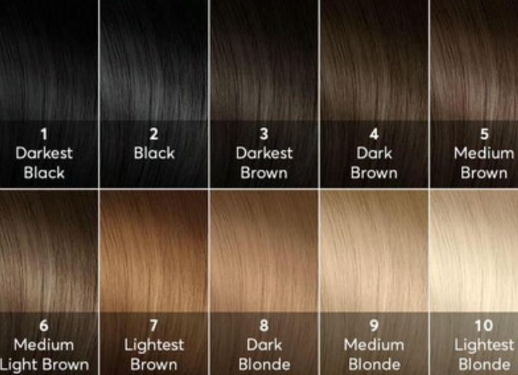 16 Best Hair Color Level Chart Images On Pinterest Hair