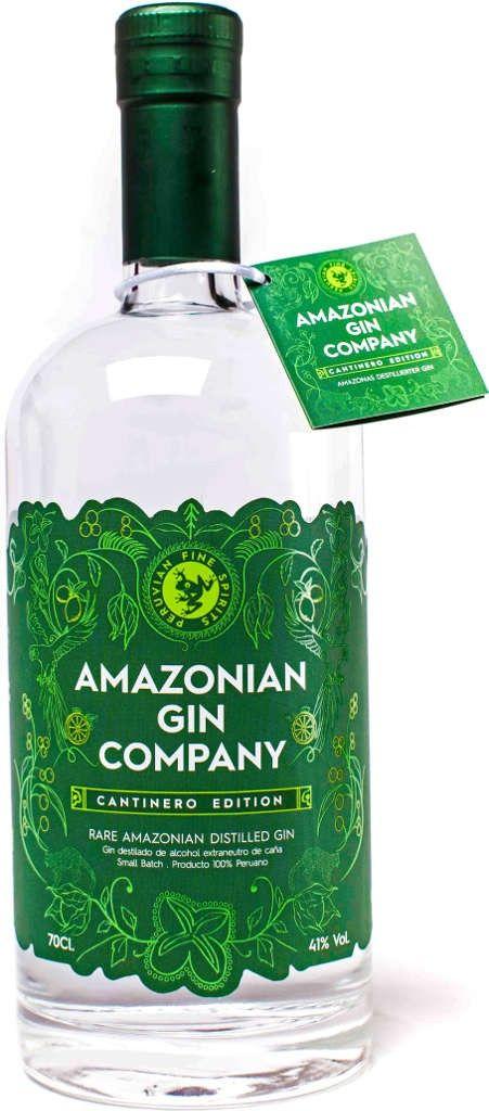 Gin von The Inca Distillery in der 0,7 l Flasche mit 41% Vol. Alc.