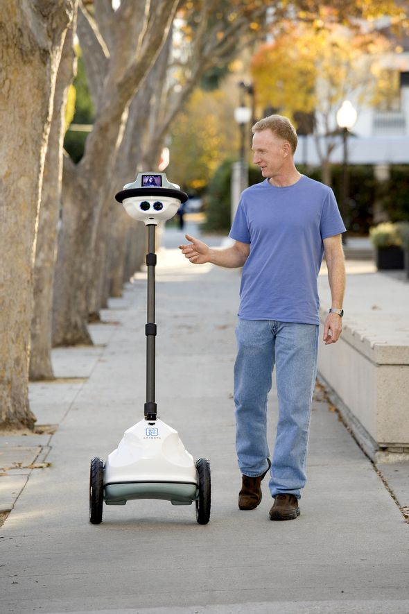 Anybots  Anybots was founded in 2001 and performs robot research and development. Within healthcare, AnyBots provides a type of immersive telepresence, meaning instead of focusing merely on audio and video communications, the AnyBots robot allows for movement controlled by a remote.