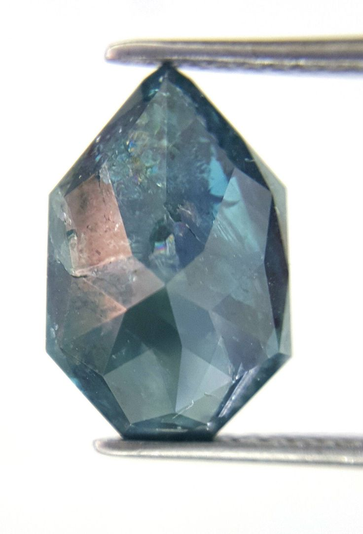 Mega Sale Very Big Shield Shape Rose cut 3.22 TCW 12.0 x 8.0 x 4.0 (L x B X H) MM Blue colour African Antique Loose Natural Diamond for Ring by collectionjewellery on Etsy https://www.etsy.com/listing/520271198/mega-sale-very-big-shield-shape-rose-cut. Yes but flat sides, no pointy.  Perfect size ... I could find simple setting!  I like big rocks and I cannot lie.