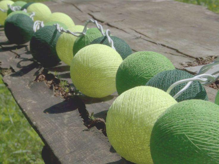 Qule Cotton Balls Light by qule.pl