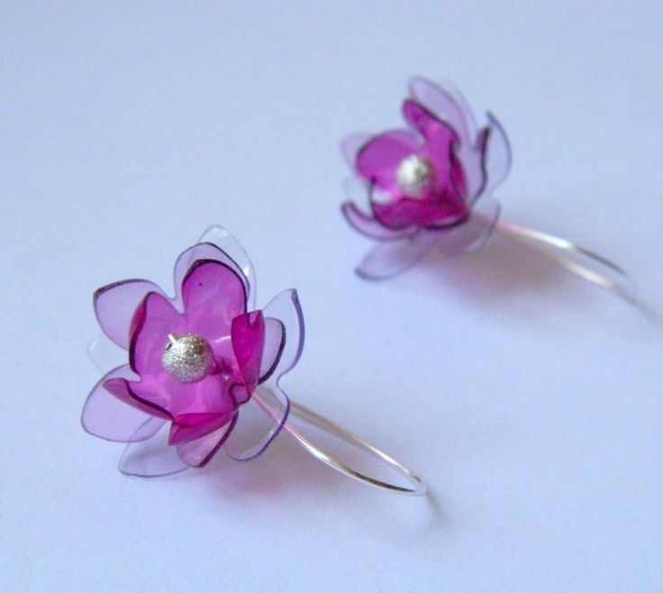 Country beyond the arc Earring flowers from