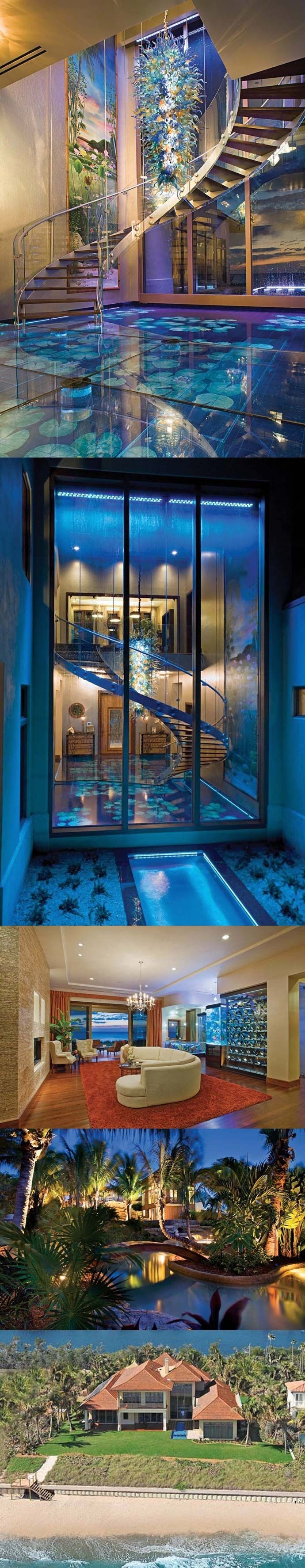 Amazing Florida Eco-Mansion photography home mansion glass amazing modern luxury architecture homes dream home mansions amazing homes