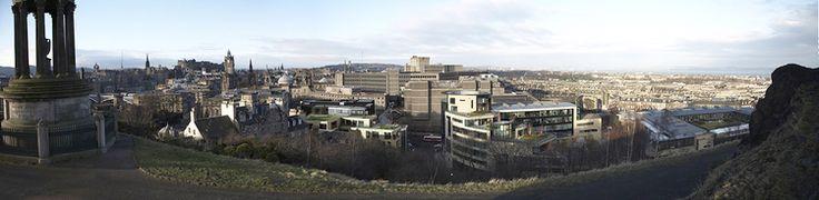 Calton Hill, Edinburgh, UK. 3D computer generated imagery  #visualisation #architectural #3d #cgi #lansdcape #design #urban