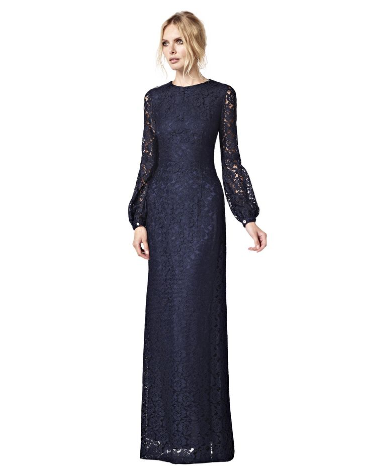 Josephine - navy lace - LaDress by Simone