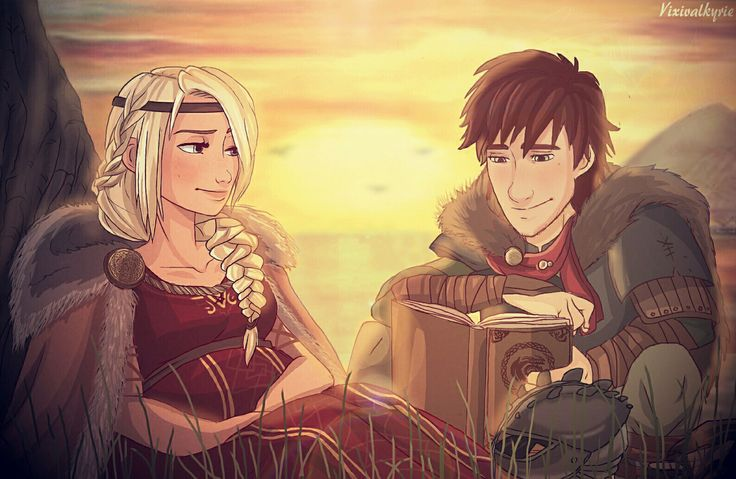 """Just The Little Thing(s) Hiccup and Astrid take the time to spend a private dusk at one of their favorite hotspots. Hiccup is eager to recite all the ideas he has for their upcoming kiddo, and Astrid is more than willing to hear the guy ramble. "" (..."