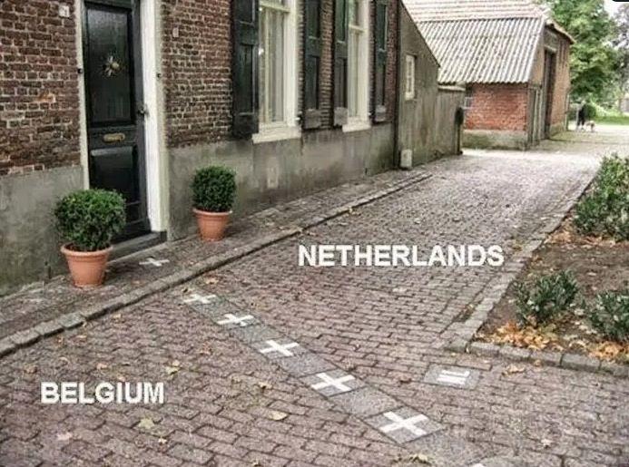 Las 15 Fotografías Más Espectaculares De Fronteras Entre Países TWITTEAR COMPARTIR Una gran selección de las mejores y más curiosas fronteras. Bélgica – Países Bajos