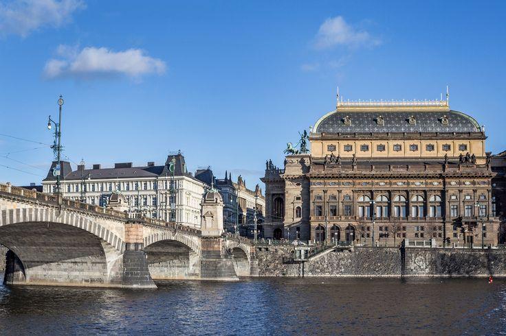 NATIONAL THEATRE, PRAGUE. PHOTO: Honza Zima