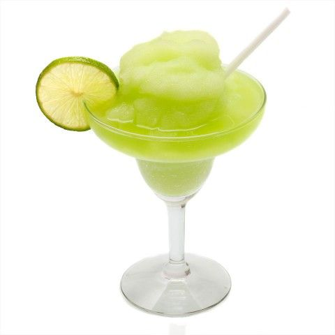 Melon Margarita (frozen)....tequila--melon liquer--sweet & sour mix--ice