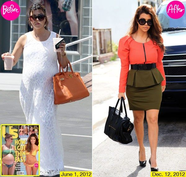 How Kourtney Kardashian Lost 44 Pounds In 6 Months After Giving Birth