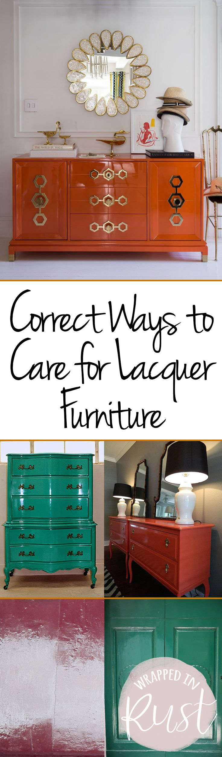 Correct Ways to Care for Lacquer Furniture| Caring for Furniture, How to Care for Lacquer, Caring for Lacquer, Furniture, Furniture Hacks, Furniture Care. #CaringforFurniture #Furniture #FurnitureCareTips
