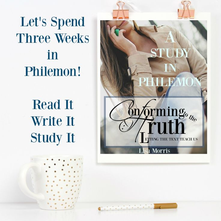 Here we go, ladies! I am excited to announce our next Bible Study in the book of Philemon! I do not know about you but I have never seen or participated in a study in the book of Philemon! Just like the book of Jude, it is one chapter with only five verses. Do not …
