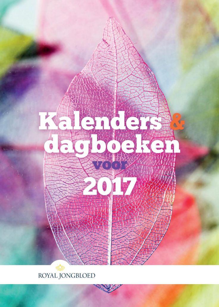 Kalenders en dagboeken voor 2017