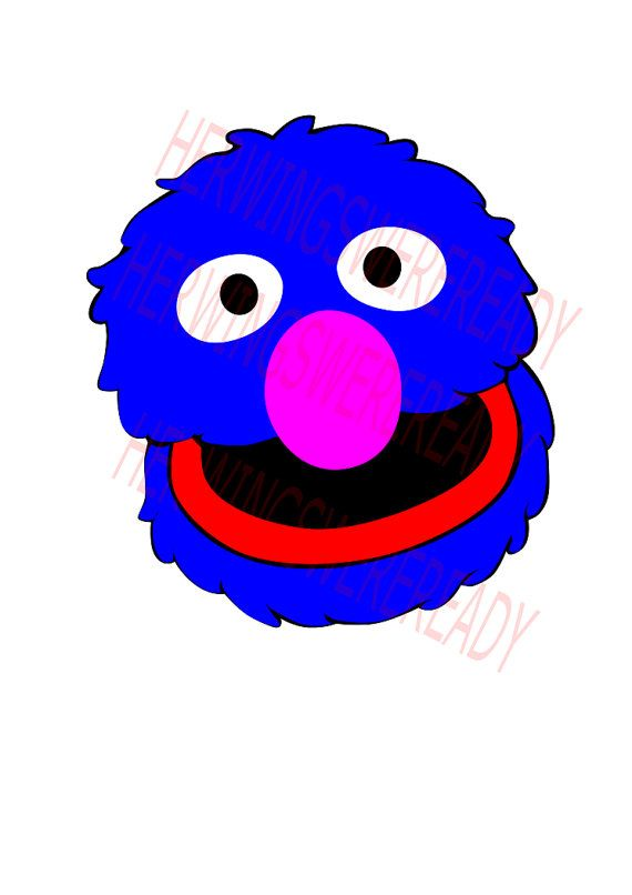 Grover Clipart