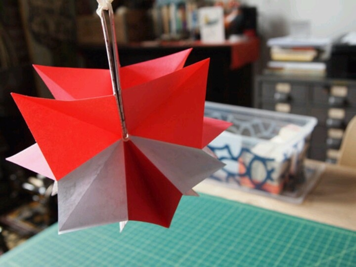 origami flowers for valentines day