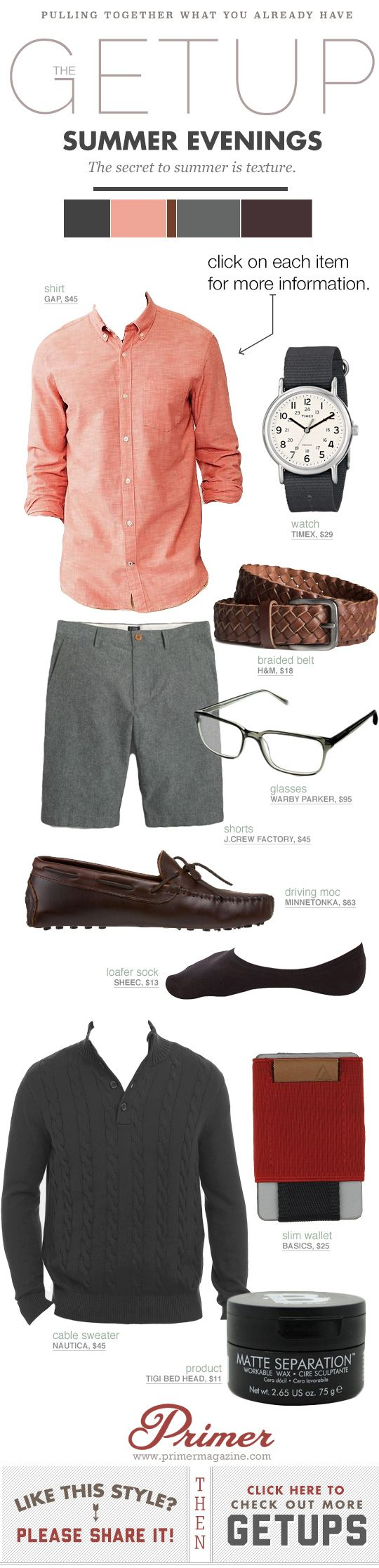 Summer Getup Week: Summer Evenings | Primer