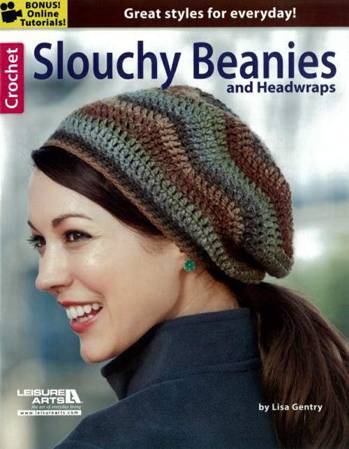 Do you love to crochet quick gifts? These stylish beanies and headwraps by Lisa Gentry stitch up in a weekend or less! You'll enjoy creating the exciting fashions with pretty shells, cables, ripples,