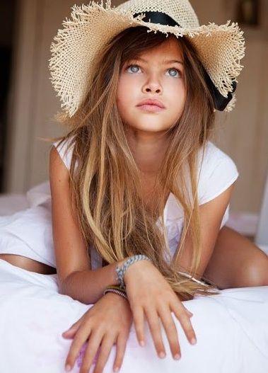 Most beautiful little girl/model ever, Thylane Blondeau.