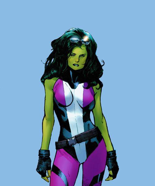 She-Hulk in Civil War II - Mahmud Asrar