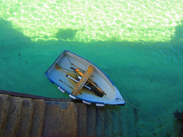 Boat in water by Stephen Ashberry.  #cornwall #boats