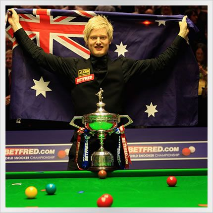 1: Neil Robertson (Australia.)