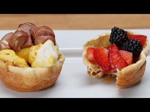 Elle Verse De La Pâte À Crêpes Dans Un Moule À Muffins… Le Résultat Est Sublime, Miam ! »