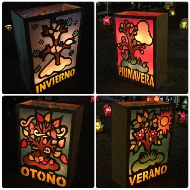 Faroles usados durante el Festiva de Velas en Quimbaya Quindio. Foto gracias a http://instagram,com/sebutas1985