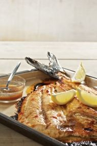 Enjoy this South African recipe for Snoek with Apricot Jam
