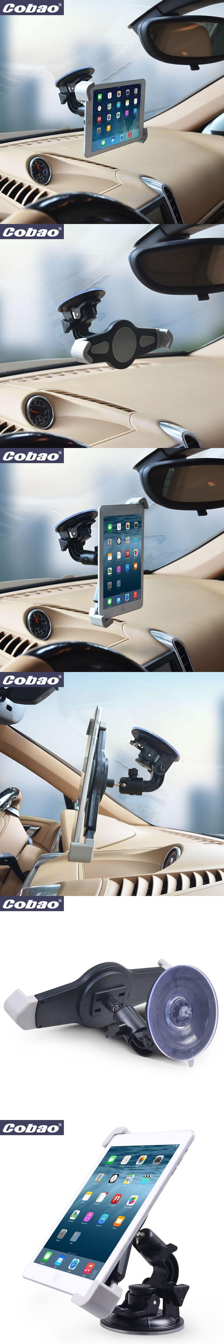 New 7 8 9 10 inch Tablet Car Holder Universal soporte tablet desktop Windshield Car mount cradle For iPad Samsung Tab Stand