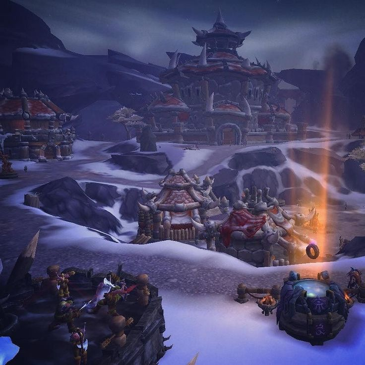 Finally building a Horde garrison #worldofwarcraft #deetwentyguild