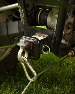 Rear Link for Reversaroller allows you to winch backward with a front mounted winch using a Reversaroller bracket