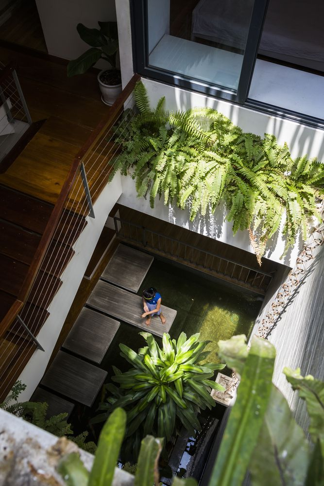 Gallery Of S House Alpes Gdb 14 Courtyard Design Courtyard House Architecture House