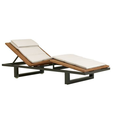 Sutherland | Peninsula Chaise. Contemporary Outdoor FurnitureOutdoor ...