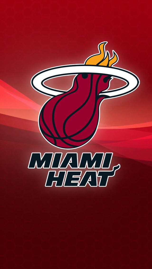 Free Download NBA Miami Heat HD iPhone 5 Wallpapers Free
