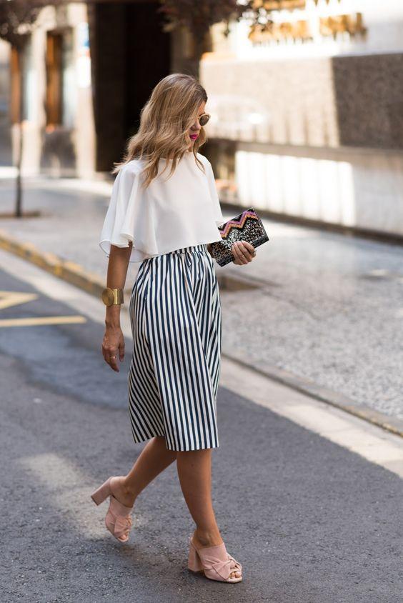 stripes | looks de 2019 | Moda, Roupas e Looks street style